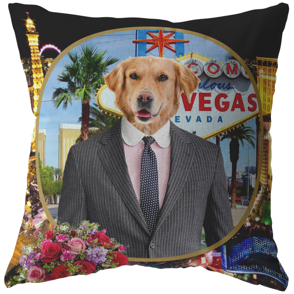 Johnny Golden Retriever Pillow - The Green Gypsie