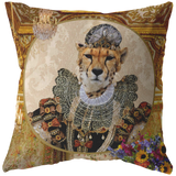 Betty Cheetah Pillow - The Green Gypsie