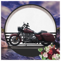 Harley Motorcycle Canvas