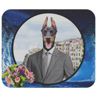 Cooper Doberman Mouse Pad - The Green Gypsie
