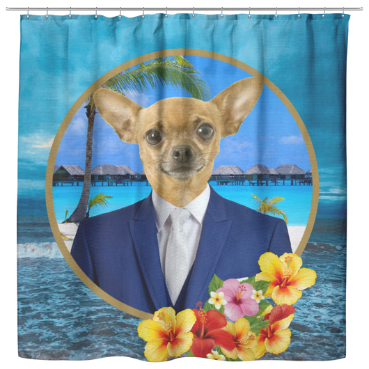 Chico Beach Shower Curtain