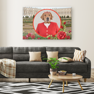 GiGi Golden Retriever Rectangle Canvas - The Green Gypsie