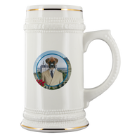Bruno Boxer Beer Stein - The Green Gypsie