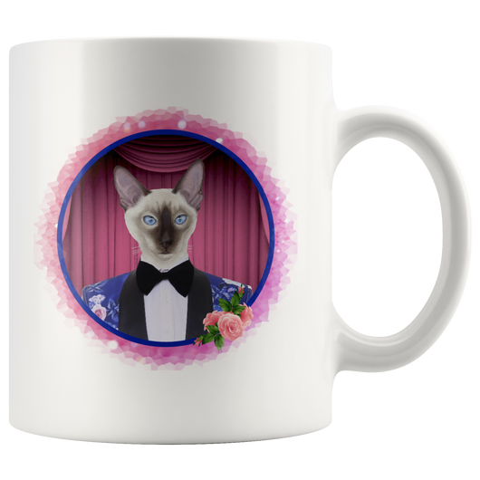 Scooter Cat Mug - The Green Gypsie