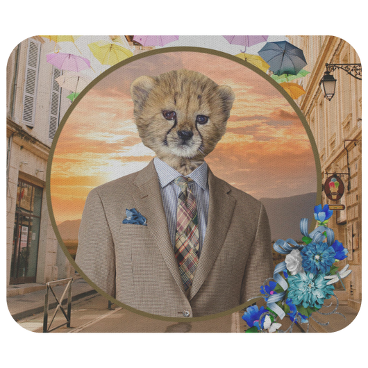 Chester Cheetah Mouse Pad - The Green Gypsie