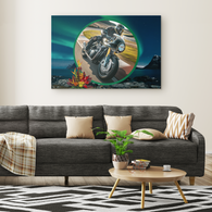 Motorcycle Canvas