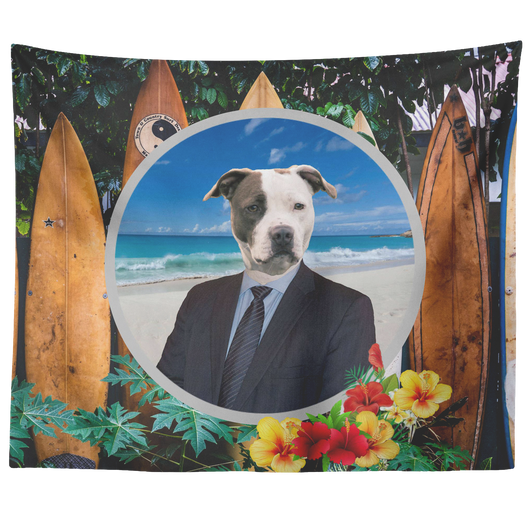 Peter Pit Bull Terrier Tapestry - The Green Gypsie