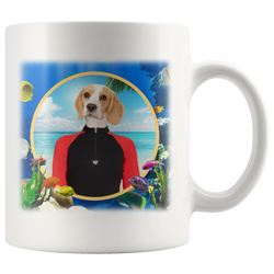 Bella At The Sea Beagle Mug