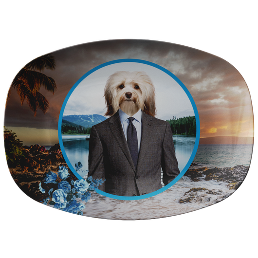 Hunter Havanese Platter - The Green Gypsie