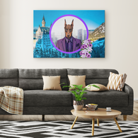 Prince Doberman Canvas - The Green Gypsie