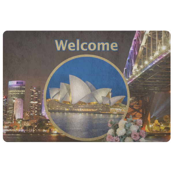 Australia Doormat - The Green Gypsie