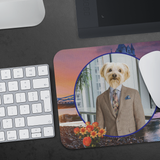 Benji Yorkshire Terrier Mouse Pad - The Green Gypsie