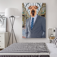 Bingley Airedale Terrier Rectangle Canvas - The Green Gypsie