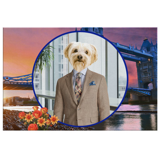 Benji Yorkshire Terrier Rectangle Canvas