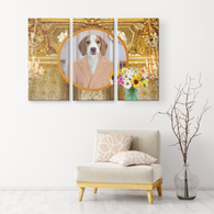 William Beagle 3 Canvas Set - The Green Gypsie
