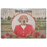 GiGi Golden Retriever Doormat - The Green Gypsie