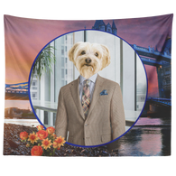 Benji Yorkshire Terrier Tapestry - The Green Gypsie