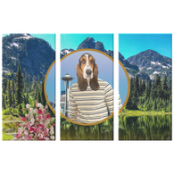 Henry Hound 3 Canvas Set - The Green Gypsie