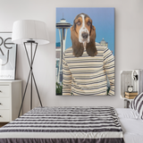 Henry Hound Canvas - The Green Gypsie
