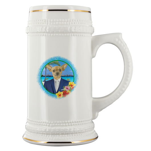 Chico Beach Beer Stein - The Green Gypsie