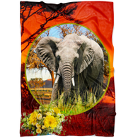 Emma Elephant Blanket - The Green Gypsie
