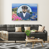 Randy Rottweiler Canvas - The Green Gypsie