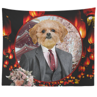 Ollie Shih Tzu Tapestry - The Green Gypsie