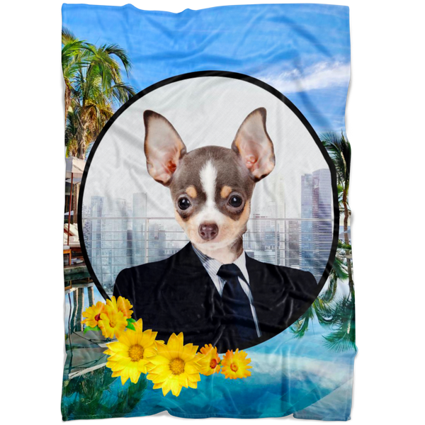 Coco Chihuahua Blanket - The Green Gypsie