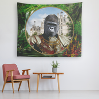 Albert Gorilla Tapestry - The Green Gypsie