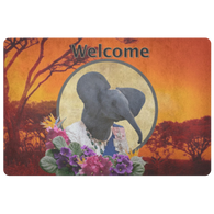 Ellie Elephant Doormat - The Green Gypsie