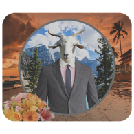 Ray Goat Mousepad - The Green Gypsie