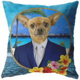 Chico Beach Chihuahua Pillow - The Green Gypsie
