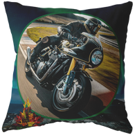 Motorcycle Pillow - The Green Gypsie