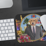 Johnny Golden Retriever Mouse Pad - The Green Gypsie