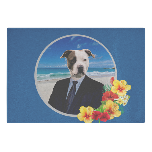 Peter Pit Bull Terrier Cutting Board - The Green Gypsie