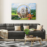 Polly Poodle Canvas - The Green Gypsie
