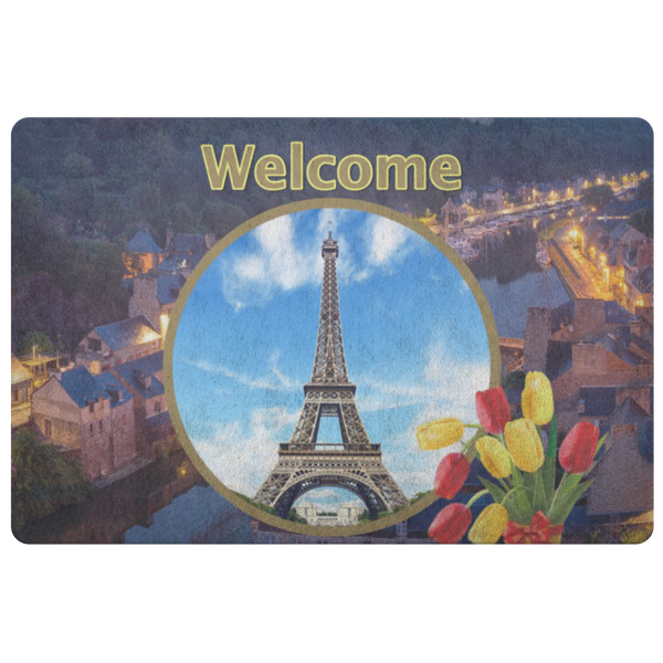 France Eiffel Tower Doormat - The Green Gypsie