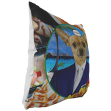 Chico Taco Bell Chihuahua Pillow - The Green Gypsie