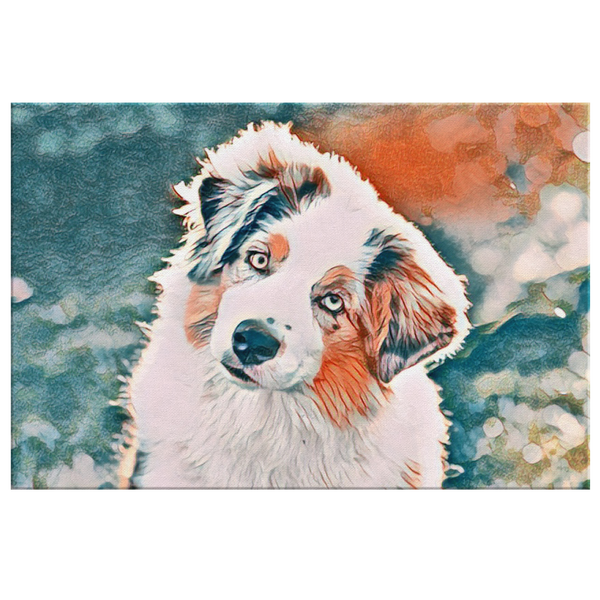 Lucky Australian Shepherd - The Green Gypsie