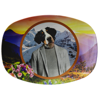 Bernie Bernese Mountain Dog Platter - The Green Gypsie