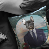 Rudy French Bulldog Pillow - The Green Gypsie