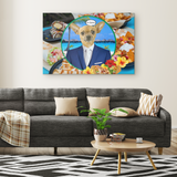 Chico Chihuahua Rectangle Canvas - The Green Gypsie