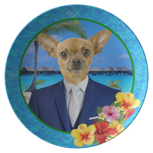 Chico Chihuahua Plate - The Green Gypsie