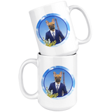 Finn French Bulldog Mugs