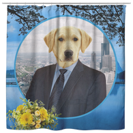 Louie Labrador Retriever Shower Curtain - The Green Gypsie