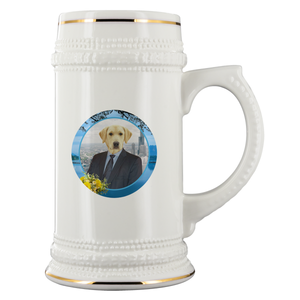 Louie Labrador Retriever Beer Stein - The Green Gypsie