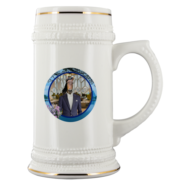 Gus Horse Beer Stein - The Green Gypsie