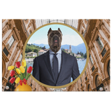 Charlie Cane Corso Rectangle Canvas - The Green Gypsie