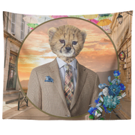 Chester Cheetah Tapestry - The Green Gypsie