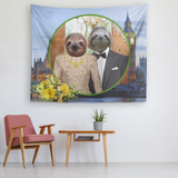 Rory & Logan Sloth Tapestry - The Green Gypsie